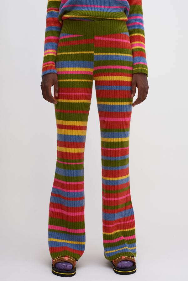 Med Rib Stripe Canyon Pants