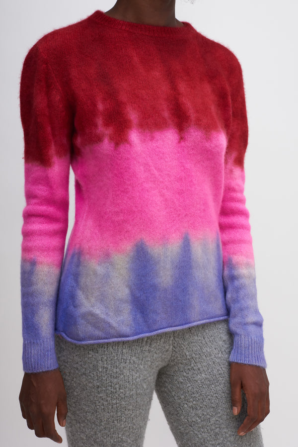 Gradient Foxy Sweater