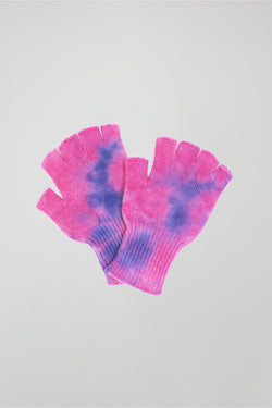 Hot Dye Heavy Fingerless Gloves