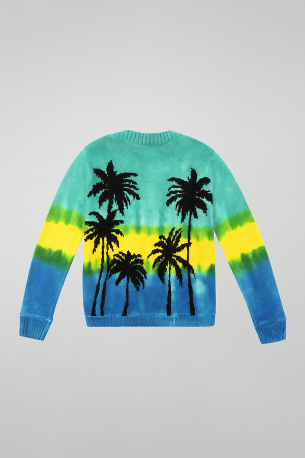 Dyed Palm Regular Sweater