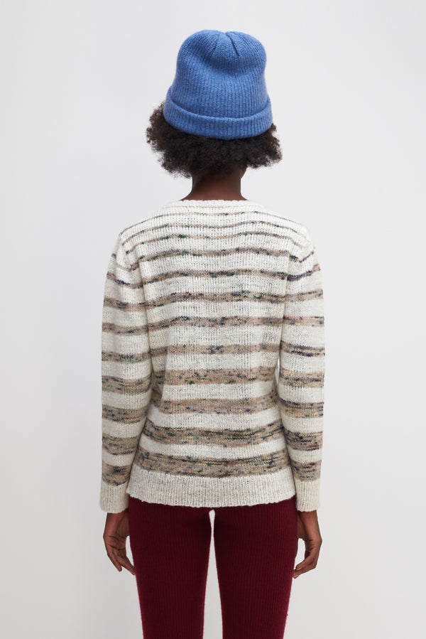 Horizon Stripe Line Sweater