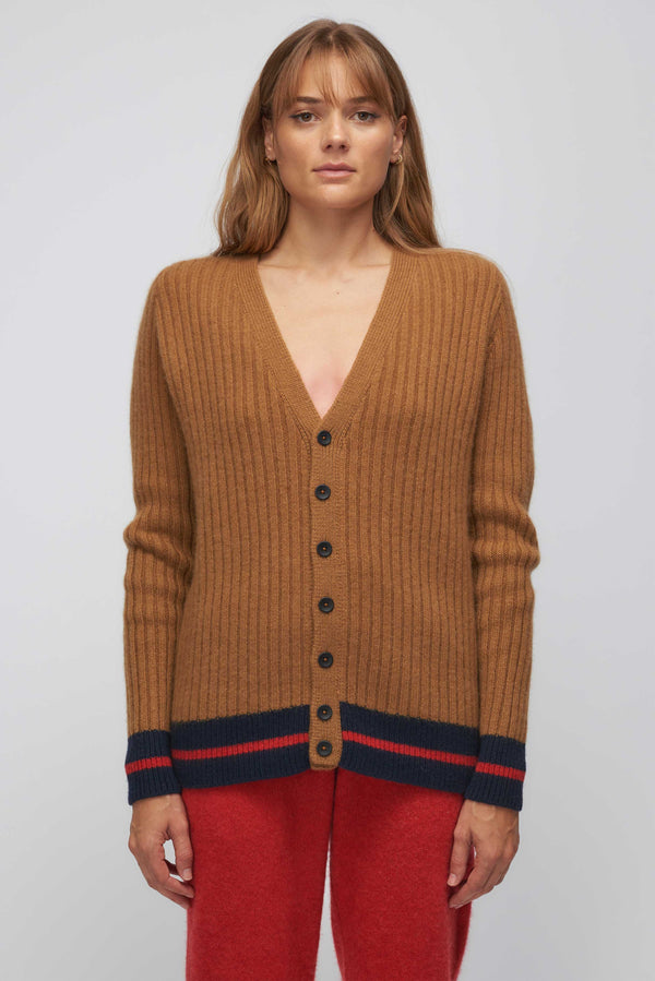 Heavy Ribbed Cardigan