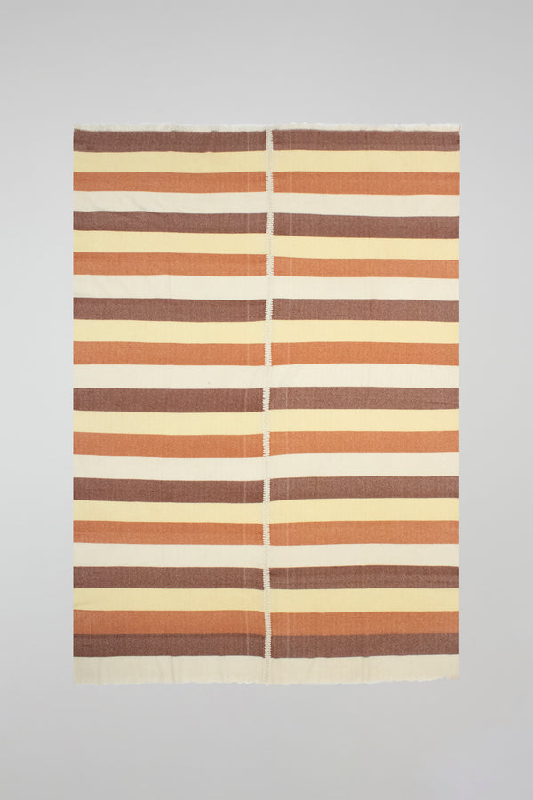 Block Stripe Woven Throw