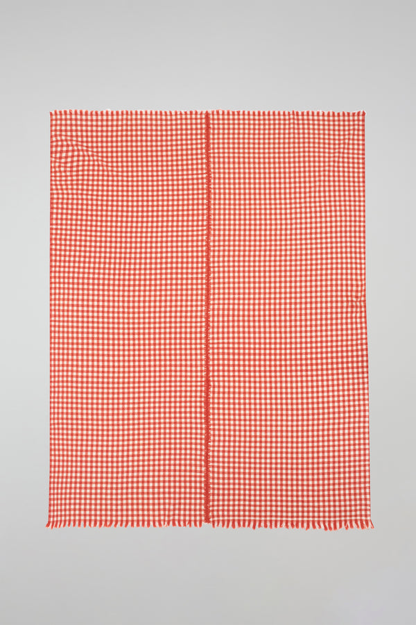 Gingham Woven Throw