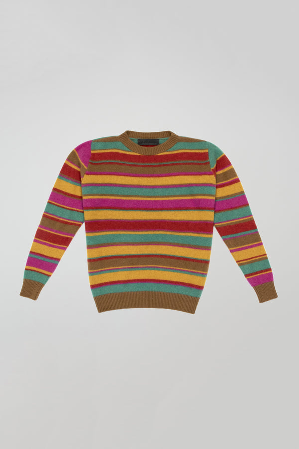 Crazy Stripe Simple Crew