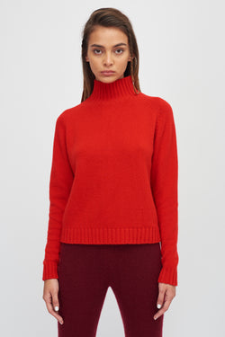Highland Cropped Turtleneck