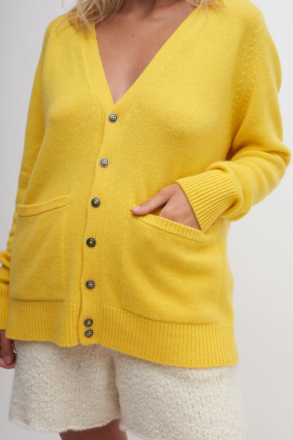 Medium Plaited Cardigan