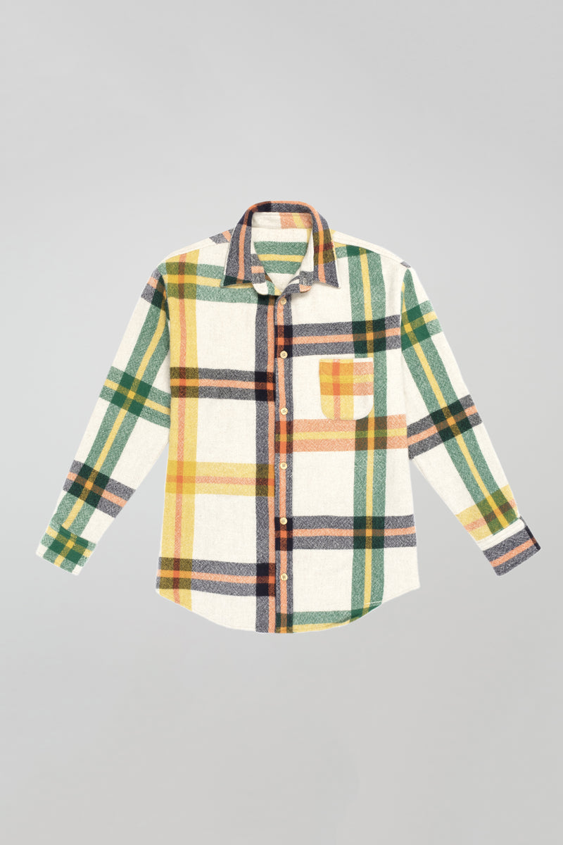 Tartan Woven Button Down Shirt