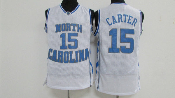 best cheap 6587c 39ce2 Vince Carter North Carolina Tar Heels Throwback Jersey