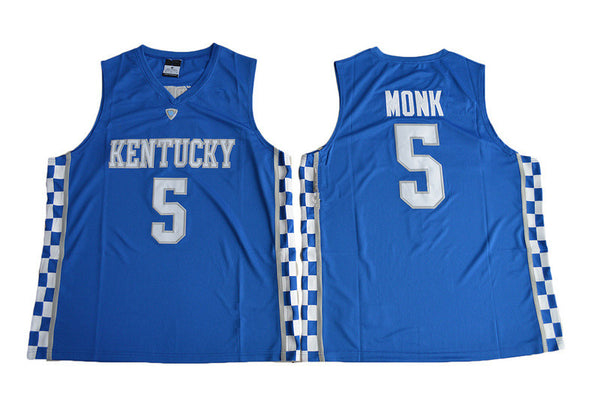 Malik Monk University of Kentucky Throwback College Jersey – Vintage ... 6050dc55d