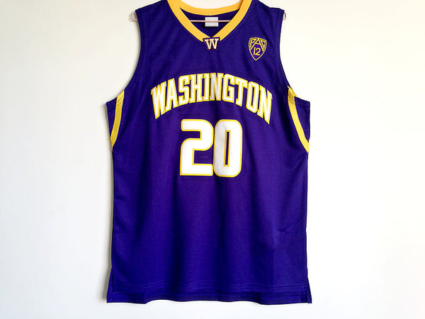 pretty nice 53e29 3989d Markelle Fultz Washington Huskies Jersey – Vintage Throwback