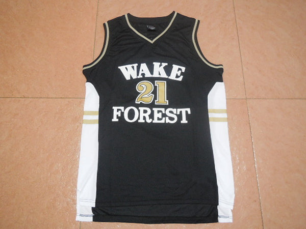 competitive price 07ebc 9a140 Tim Duncan Wake Forest Throwback Jersey