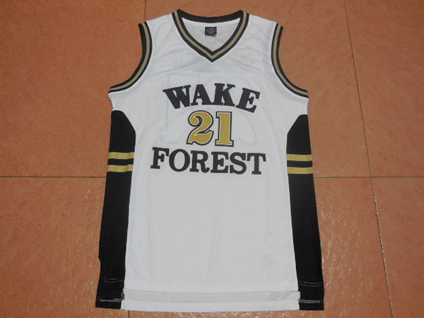 the best attitude fc388 2095c Tim Duncan Wake Forest Throwback Jersey – Vintage Throwback
