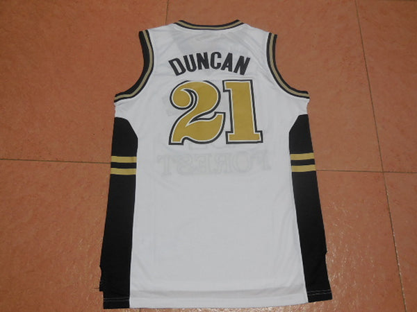the best attitude d294e 42b0c Tim Duncan Wake Forest Throwback Jersey – Vintage Throwback