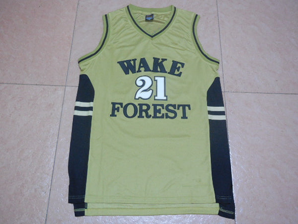 the best attitude feb38 170e6 Tim Duncan Wake Forest Throwback Jersey – Vintage Throwback