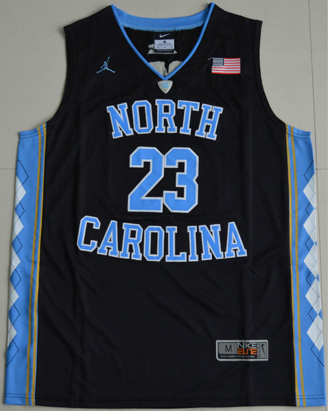 Michael Jordan North Carolina College Throwback Jersey – Vintage ... b21c801ee