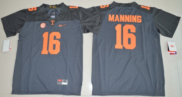 new product ef7df d458b Peyton Manning Tennessee Volunteers College Throwback