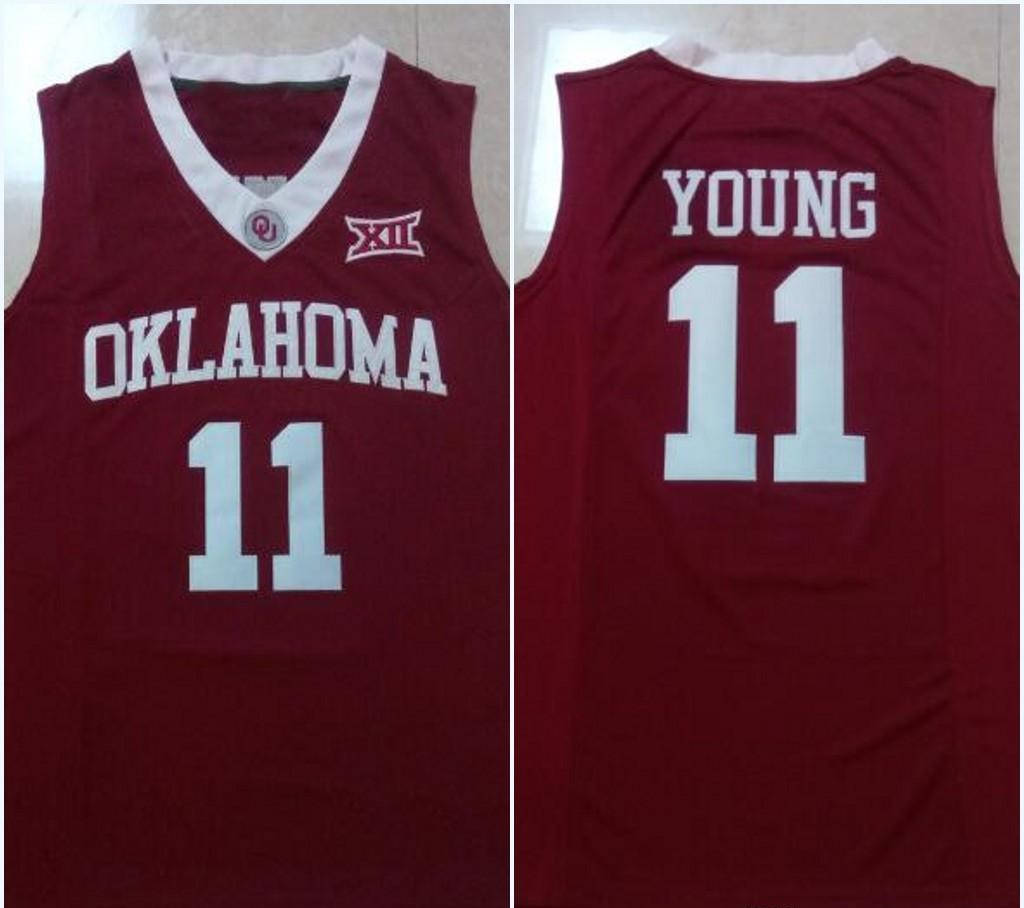best service 4ac48 ceb99 Trae Young Oklahoma Sooners Jersey