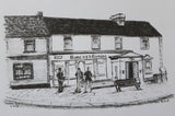 Belmullet original black and white drawings.
