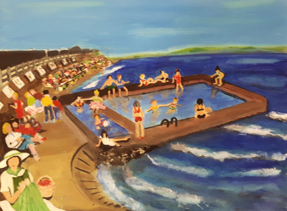 BELMULLET -  The Tidal Pool - Summer