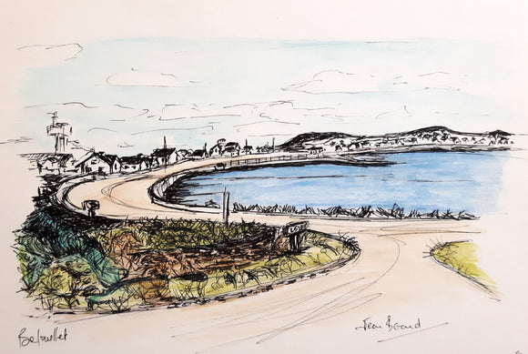 Everyday A Painting  - Belmullet on Blacksod Bay