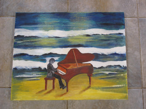Original Acrylic Painting - Song of the Sea