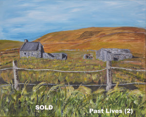 Belmullet  Original Paintings  - Past Lives series