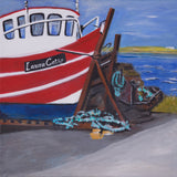 """Belmullet Harbours Series"" Original paintings.SOLD"