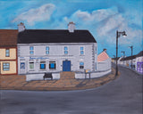 "BELMULLET .Original Paintings ""Early morning Carter Square"""