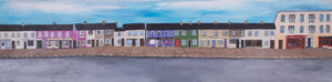 "Belmullet - Real and Imagined. ""Belmullet Streets series"" Original paintings.CLICK ON IMAGE TO SEE FULL SERIES ."