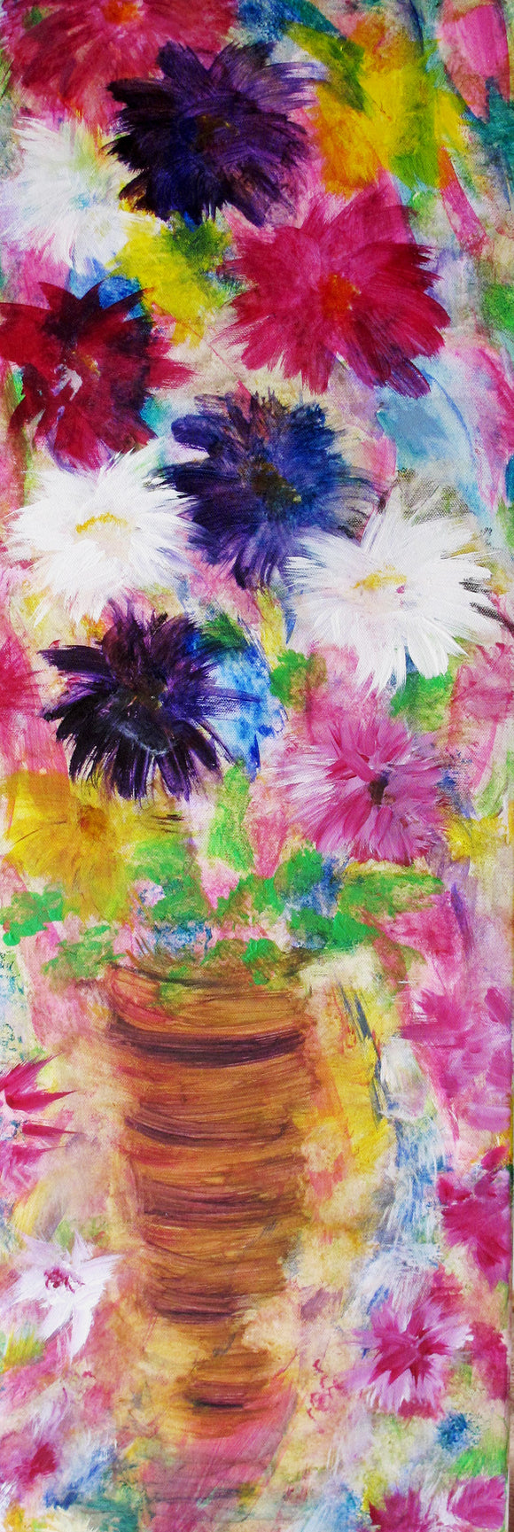 Original Acrylic Painting - Bright Flowers
