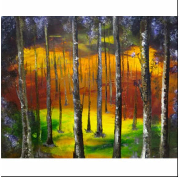 Canvas Prints - Bright woodland