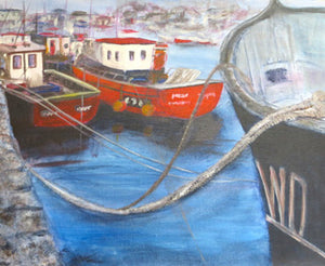 Original Acrylic Painting - Kilmore Quay SOLD