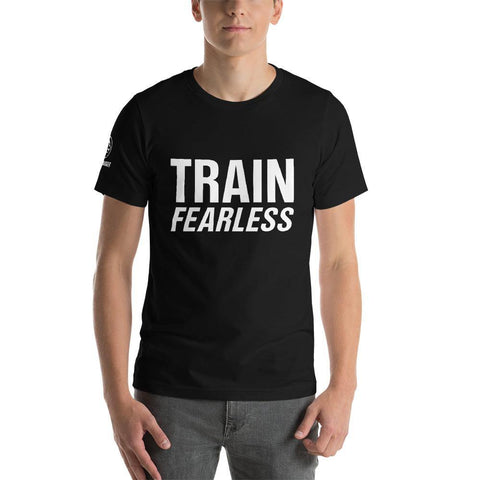 Train Fearless Dark Tee