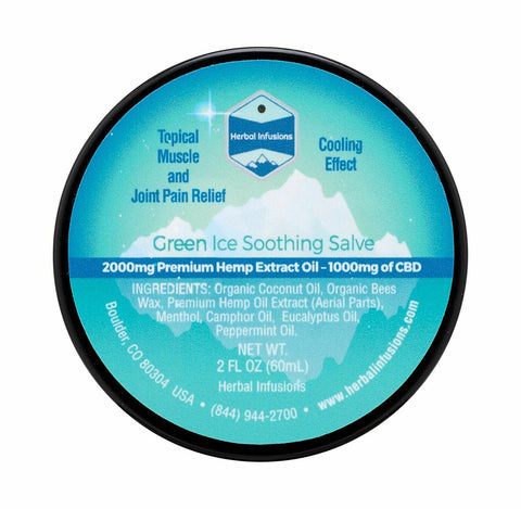Green Ice Soothing Salve