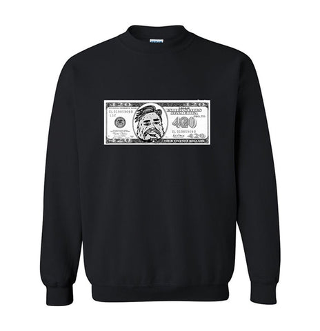 420 Dollar Bill Crew Neck