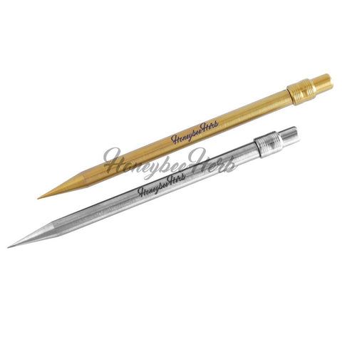 Honeybee Herb Titanium Pencil Dab Nail Gr2 Titanium Pencil Can Connect To Carb Cap Base