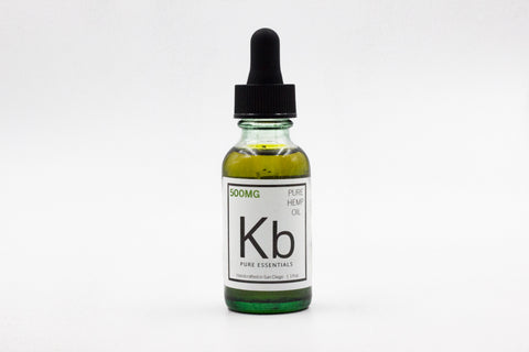 500mg CBD Hemp Oil (1 fl.oz.)