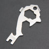 20 In 1 Stainless Steel EDC Gear Multi-tool Keychain