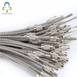 10pcs/lot EDC Stainless Steel Multi-Function Wire Rope