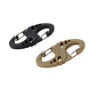 5Pcs/Lot S Type Backpack Clasps Carabiners