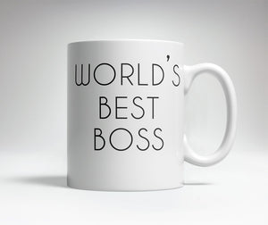 World's Best/Worst Boss Prank Mug
