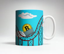 Bitcoin Roller-Coaster Trick Coffee Mug