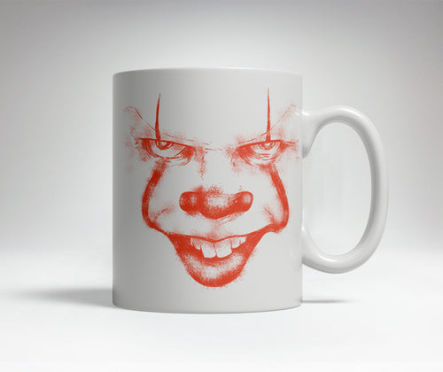 Scary Clown Prank Mug