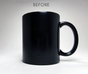 Crooked Straight Lines Optical Illusion Mug