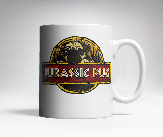 Jurassic Pug Cute Coffee Mug