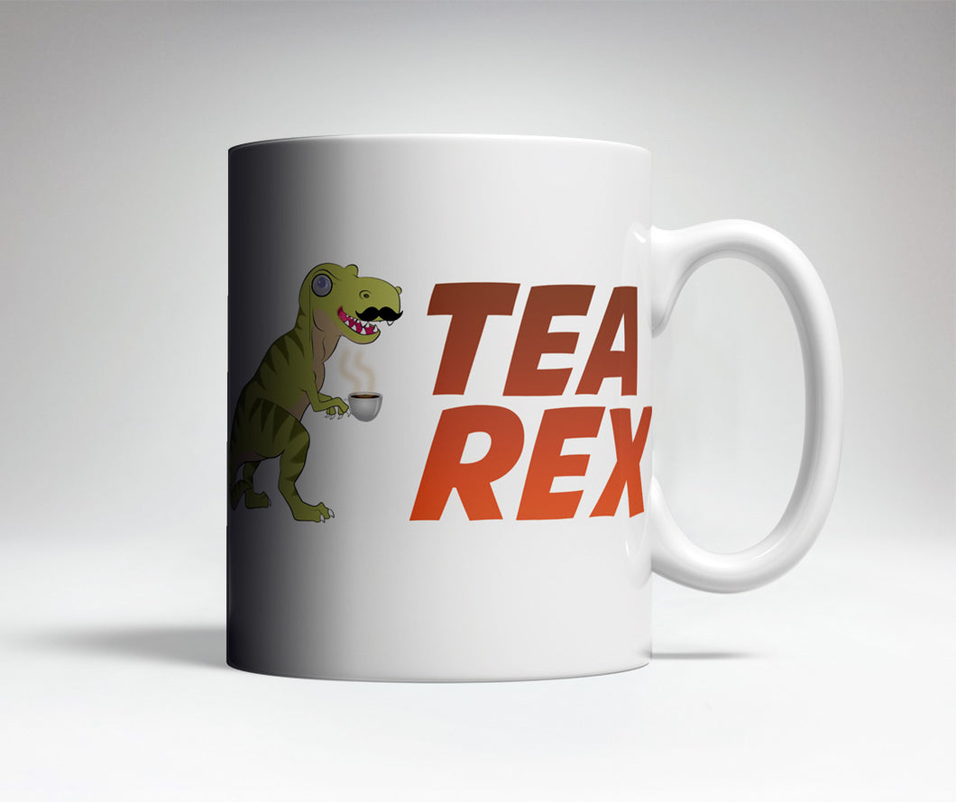 Tea Rex Cute Coffee Mug