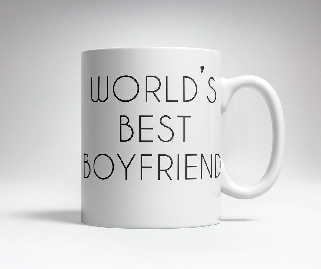 World's Best/Worst Boyfriend Prank Mug