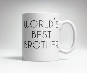World's Best/Worst Brother Prank Mug