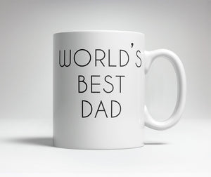 World's Best/Worst Dad Prank Mug